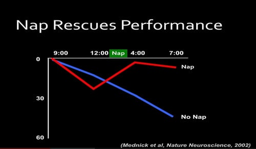 nap performance graph