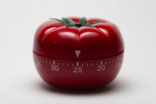 tomato-shaped timer