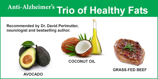 trio of brain-healthy fats