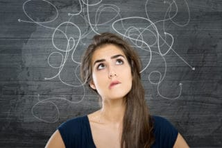 woman looking puzzled