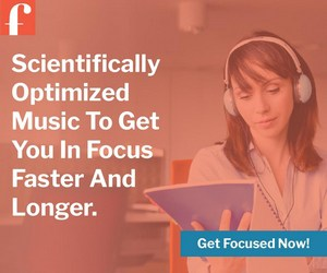 Focus@Will - Scientifically optimized music to get you in focus faster and longer. Get focused now!